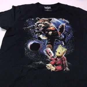 Guardians of the Galaxy Vol.2 Tshirt Size Men's XL